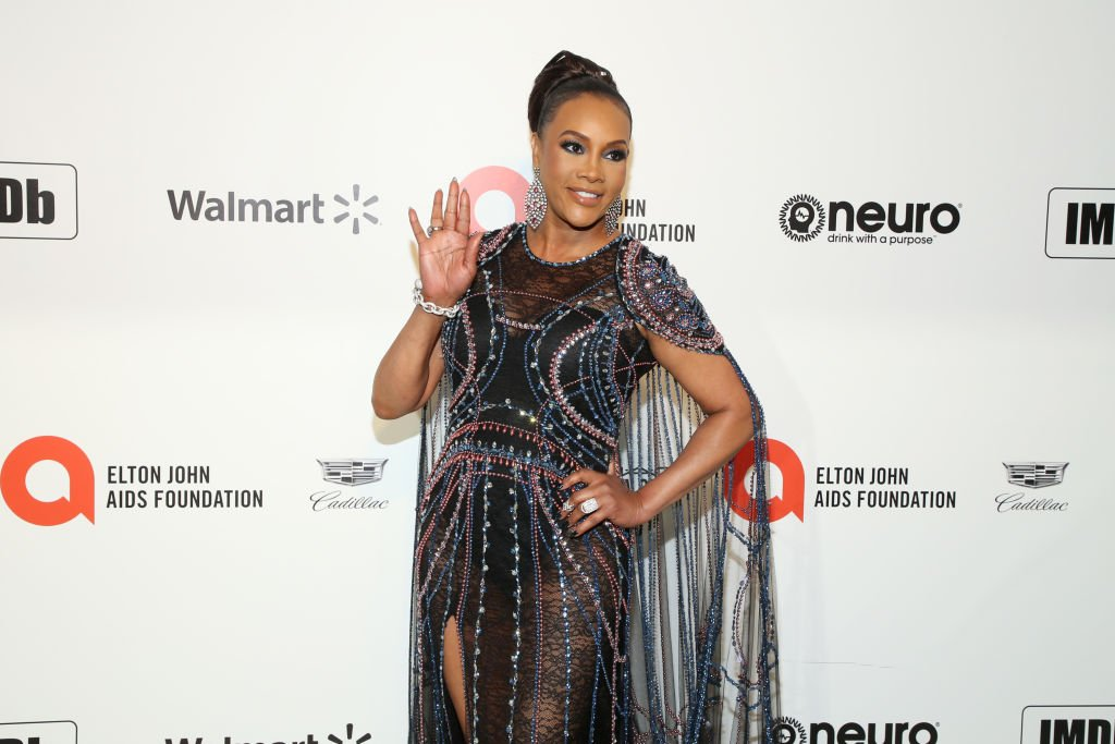 Vivica A. Fox attends the 28th Annual Elton John AIDS Foundation Academy Awards Viewing Party 2020  Photo: Getty Images