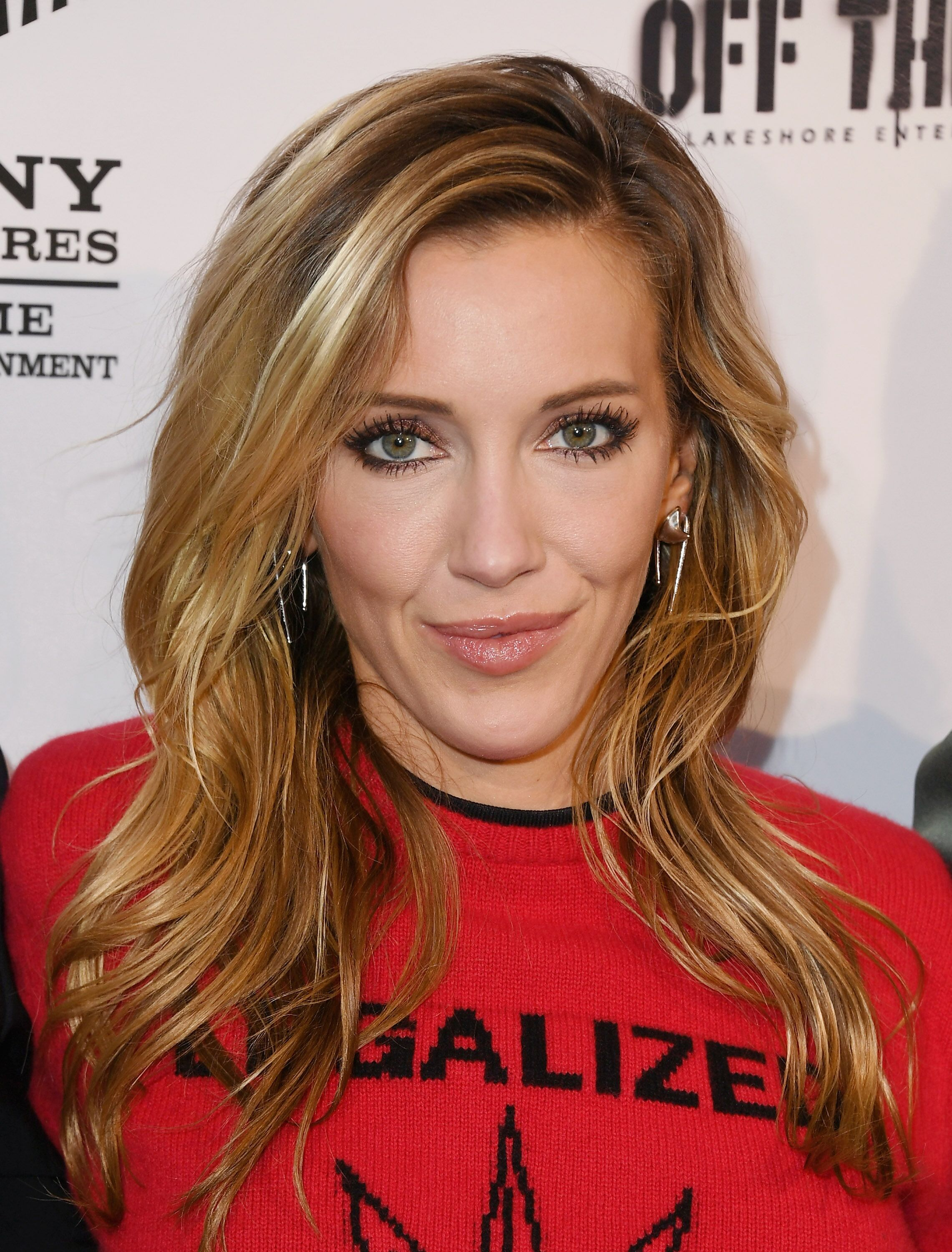"Katie Cassidy attends the Premiere Of Sony Pictures Home Entertainment And Off The Dock's ""Cover Versions""  