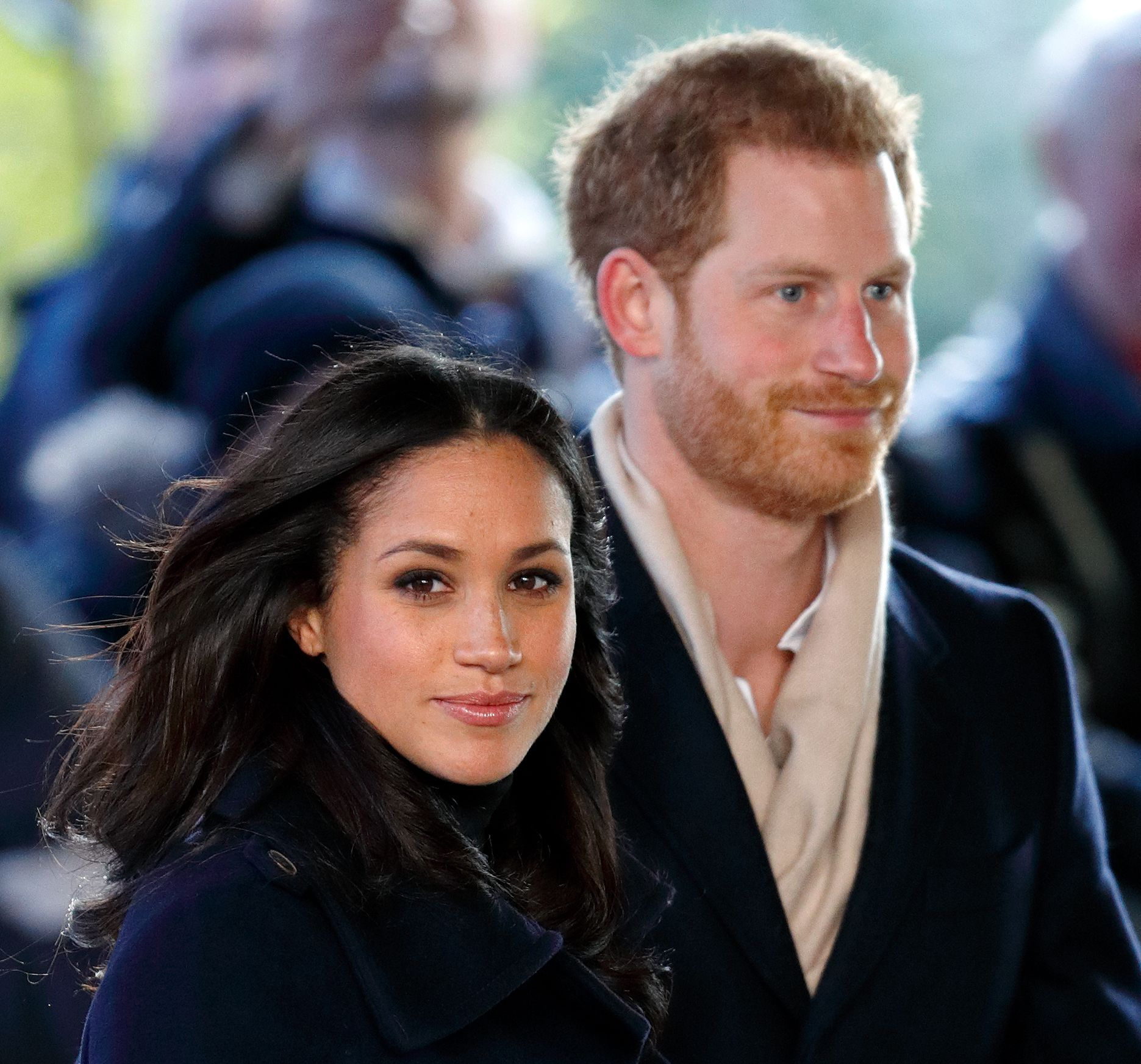 Meghan Markle and Prince Harry during a Terrence Higgins Trust World AIDS Day charity fair on Dec. 1, 2017 in England. | Source: Getty Images