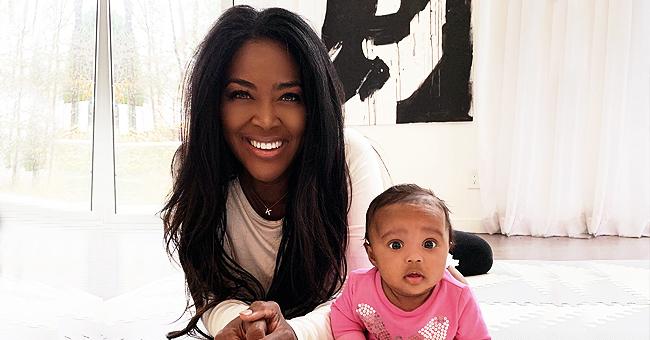 Kenya Moore's Beach Selfie with 7-Month-Old Baby Brooklyn Is 'Simply Gorgeous'