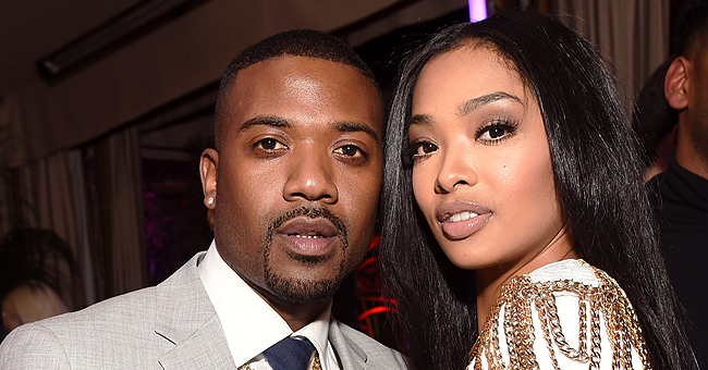 Ray J & Wife Princess Love Share Photos from Daughter Melody's 1st Birthday Photoshoot