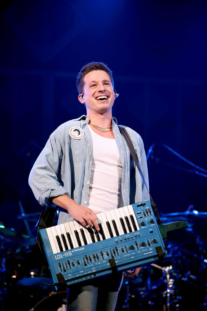 Charlie Puth performs onstage during HOT 99.5's Jingle Ball 2019 | Getty Images