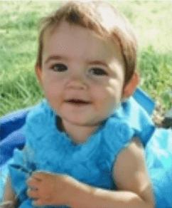 Alaina Rau, la última hija de Aubrianne Moore | Foto: YouTube / Noticias en vivo ahora