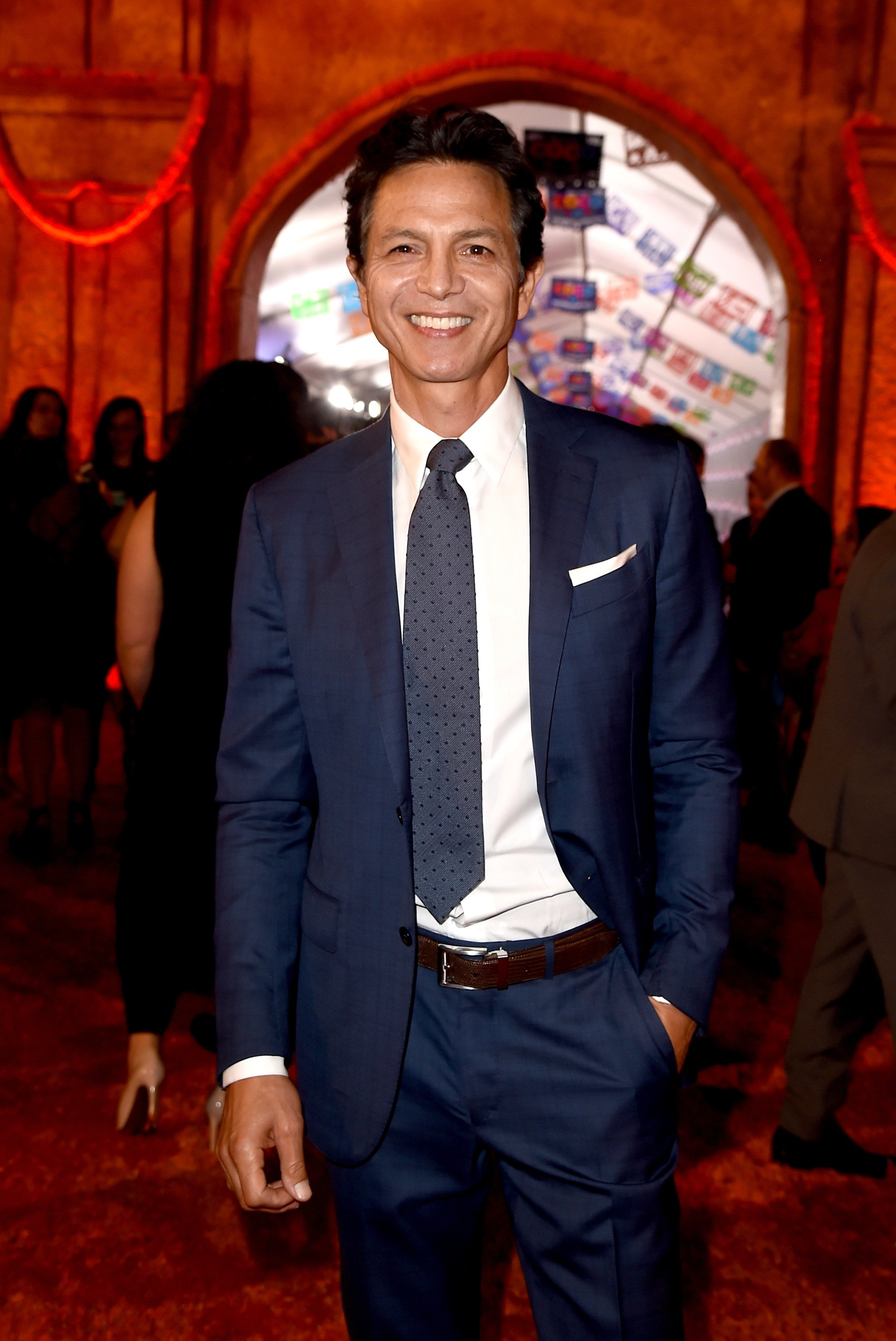 "Benjamin Bratt arrives at the premiere of Disney Pixar's ""Coco"" at the El Capitan Theatre on November 8, 2017, in Los Angeles, California. 