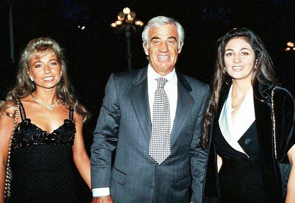 Paul Belmondo et sa fille Patricia Belmondo. | Photo : GettyImage
