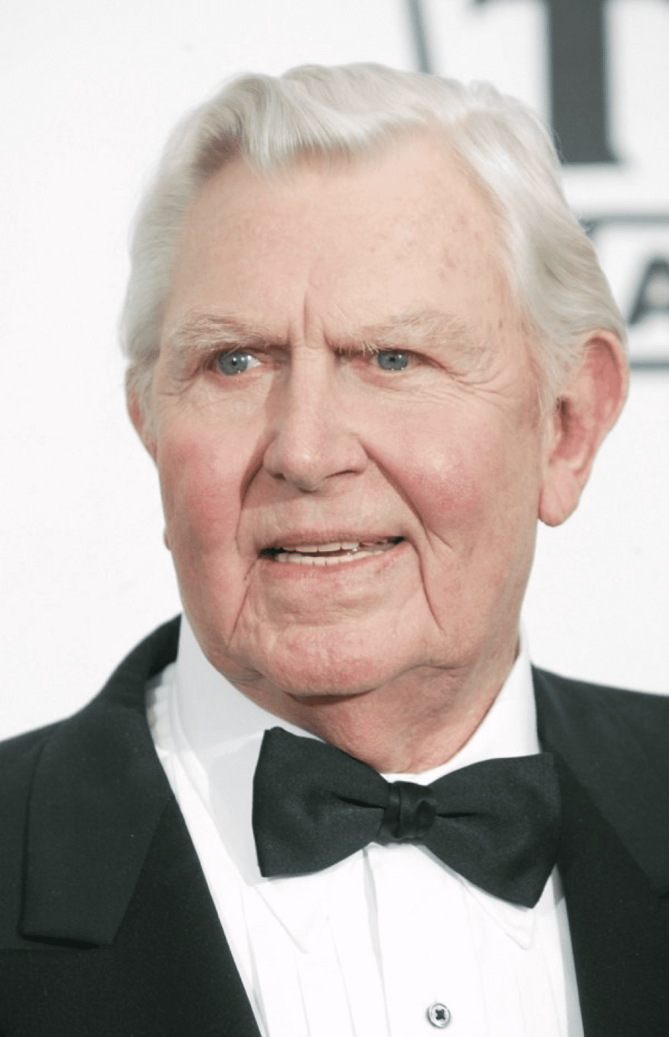 Andy Griffith am 7.3. 2004 am Hollywood Palladium. | Quelle: Getty Images