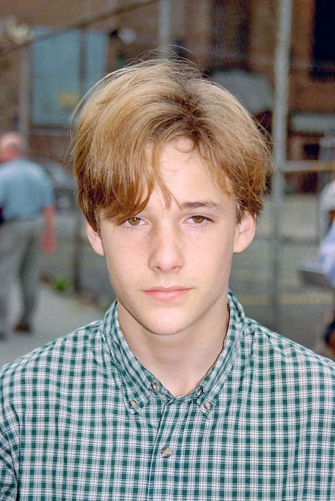 """Brad Renfro on the Set of """"Sleepers"""" on April 11, 1995 in Brooklyn 