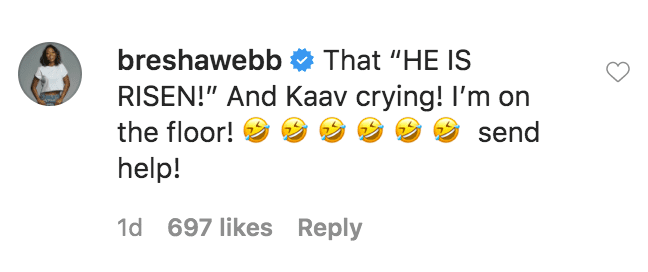 A fan commented on a video of Gabrielle's Union's daughter, Kaavia James Wade throwing a temper tantrum | Source: Instagram.com/gabunion