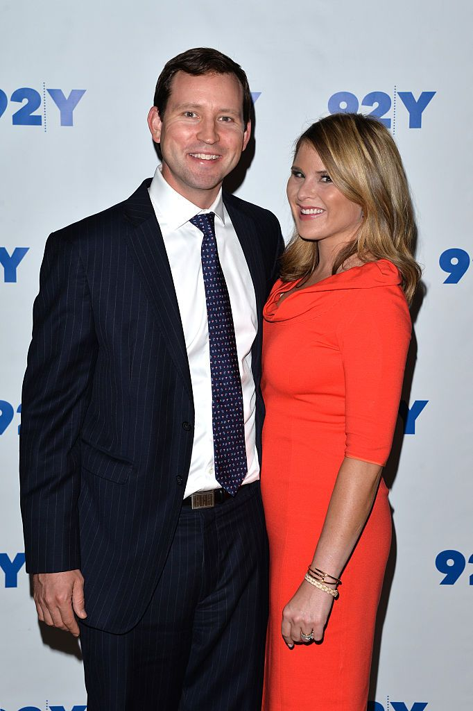 Henry Chase Hager and co-author Jenna Bush-Hager at 92Y Talks: Laura Bush & Jenna Bush-Hager on May 11, 2016   Photo: Getty Images