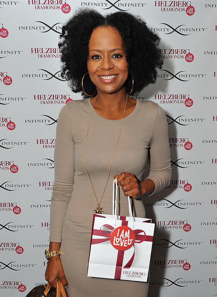 Actress Tempestt Bledsoe stops by the Helzberg Diamonds INFINITY X INFINITY Collection at the GBK Luxury Lounge during Emmy's Weekend on September 21, 2013   Photo: Getty Images