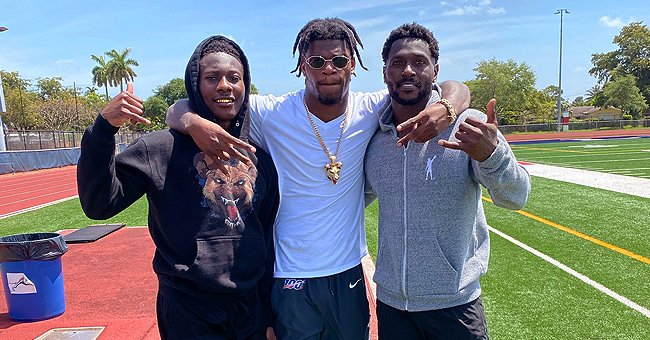 Antonio Brown Shares Working out with Lamar Jackson & Marquise Brown Outdoors Amid Coronavirus
