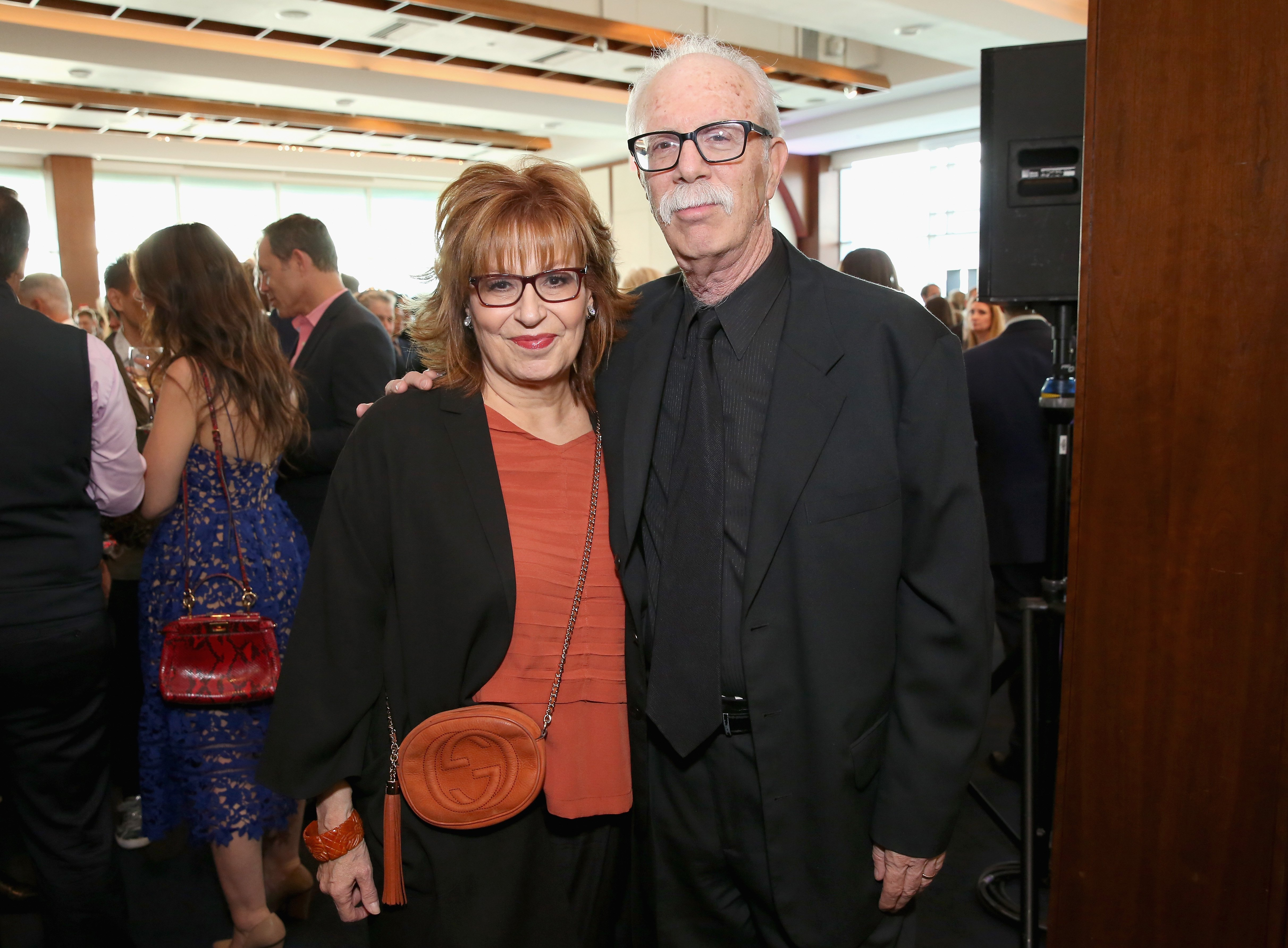 "Joy Behar and Steve Janowitz at Family Equality Council's ""Night at the Pier"" at Pier 60 on May 8, 2017 in New York City. 