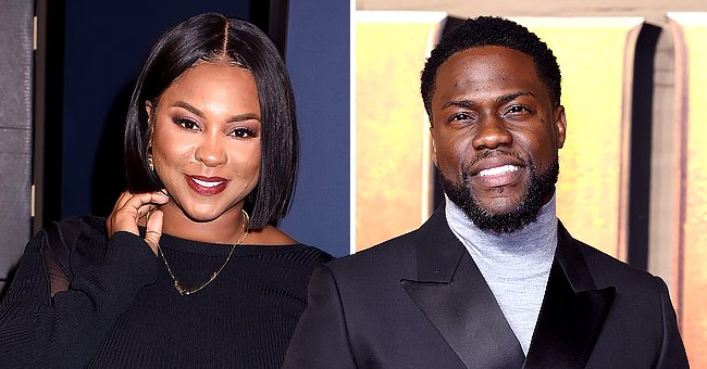 Kevin Hart's Ex-wife Torrei Shares Sweet Moment Her Look-Alike Daughter Heaven Plays with a Dog