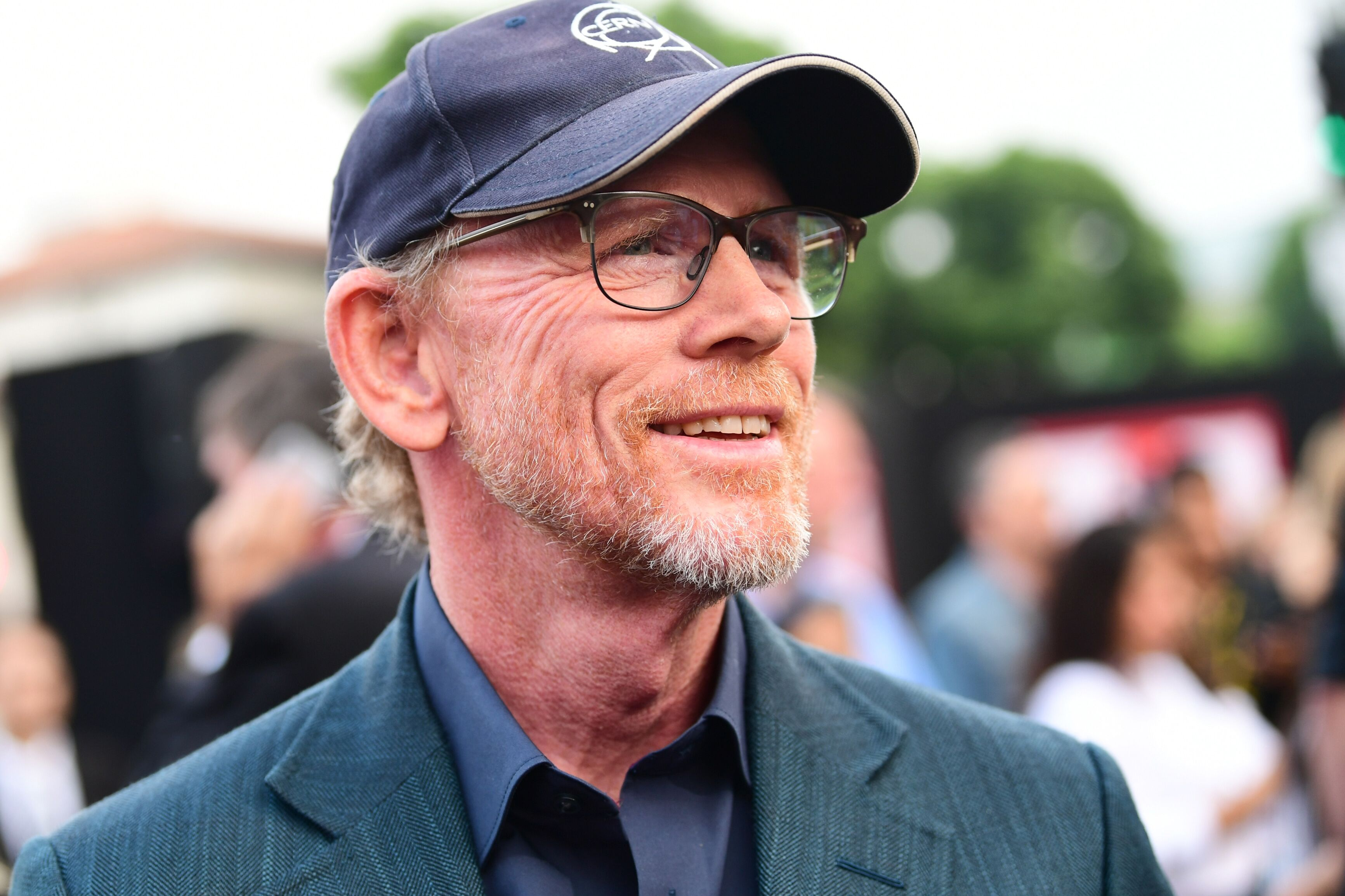 "Ron Howard at the premiere of ""The Spy Who Dumped Me."" 