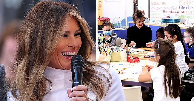 Melania Trump Donates 150 Boxed Lunches to Maryland Children's Hospital Amid COVID-19 Pandemic