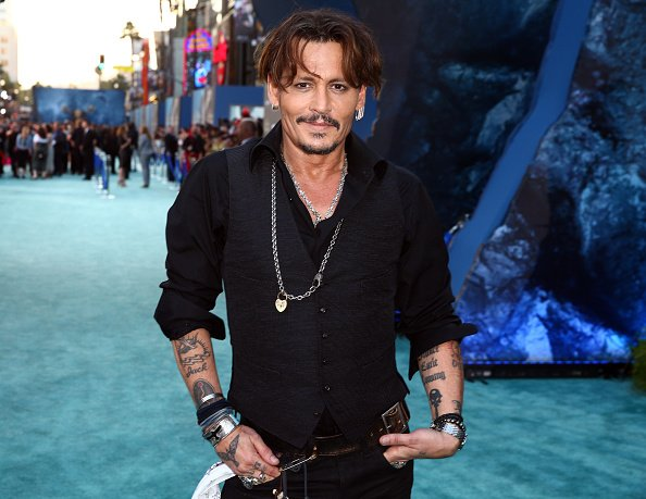 Johnny Depp at Dolby Theatre on May 18, 2017 in Hollywood, California.   Photo: Getty Images