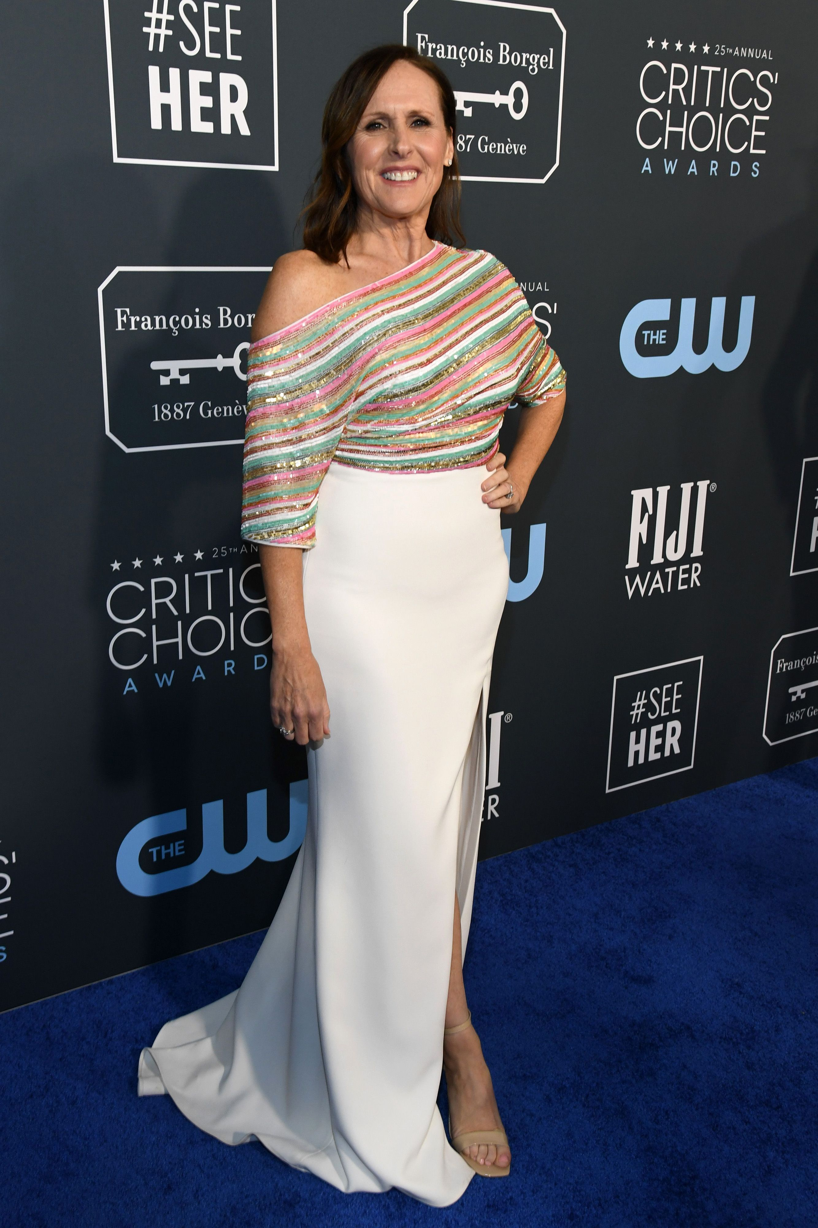 Molly Shannon attends the 25th Annual Critics' Choice Awards at Barker Hangar on January 12, 2020 in Santa Monica, California.| Source: Getty Images