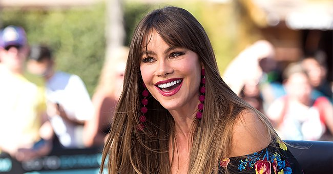 Sofia Vergara Flaunts Her Beautifully Toned Figure Wearing a Swimsuit in a Photo from the 1990s