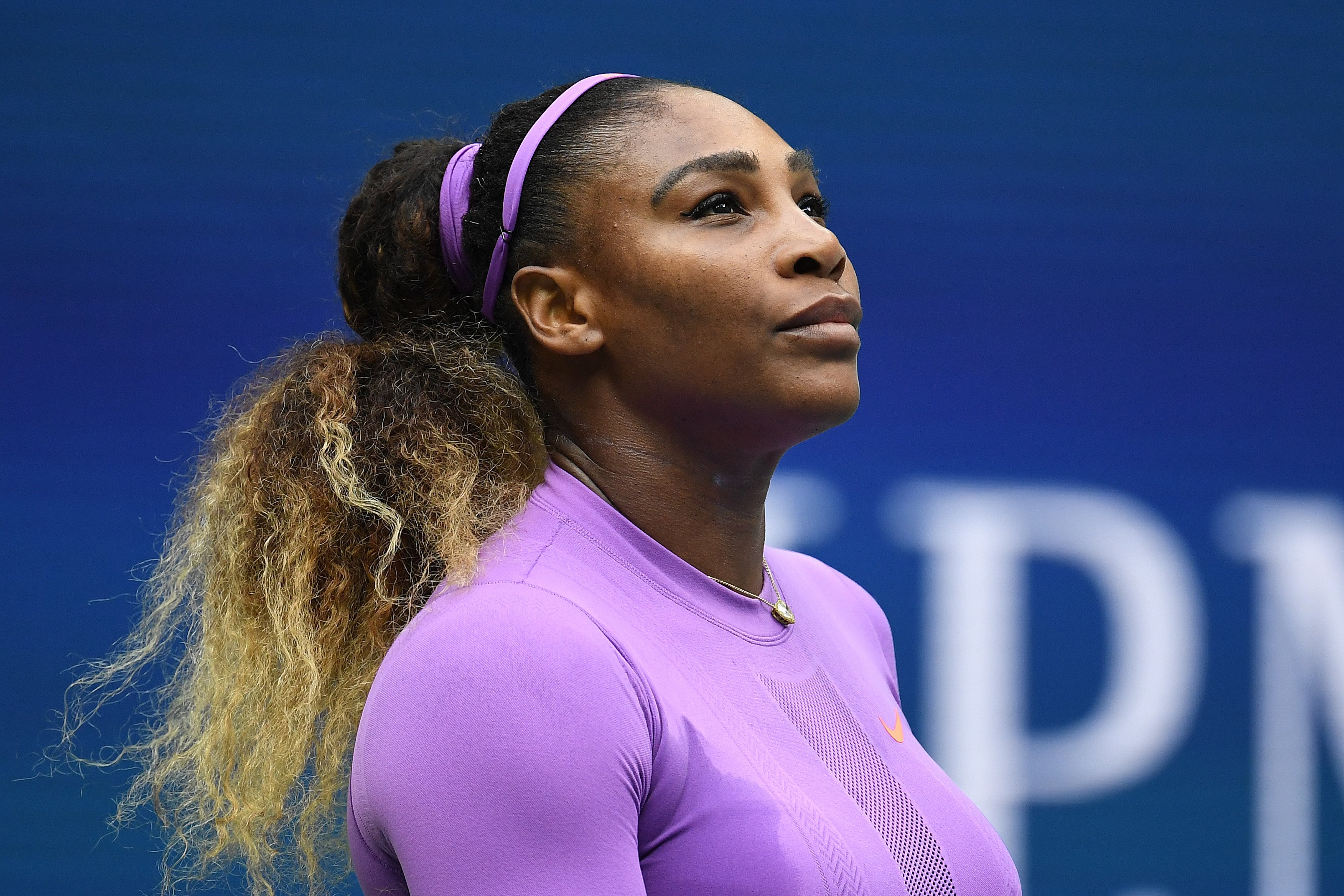 Serena Williams during her Women's Singles final match against Bianca Andreescu at the 2019 US Open on September 07, 2019 in Queens, New York. | Source: Getty Images
