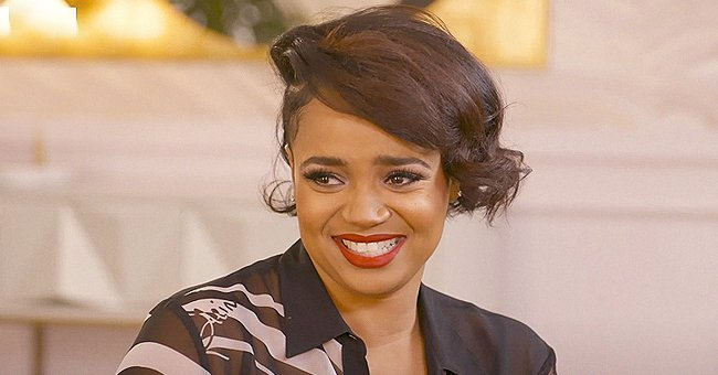 Kyla Pratt Makes Fans' Hearts Stop Posing in a Snake-Print Leather Outfit & High Boots (Video)