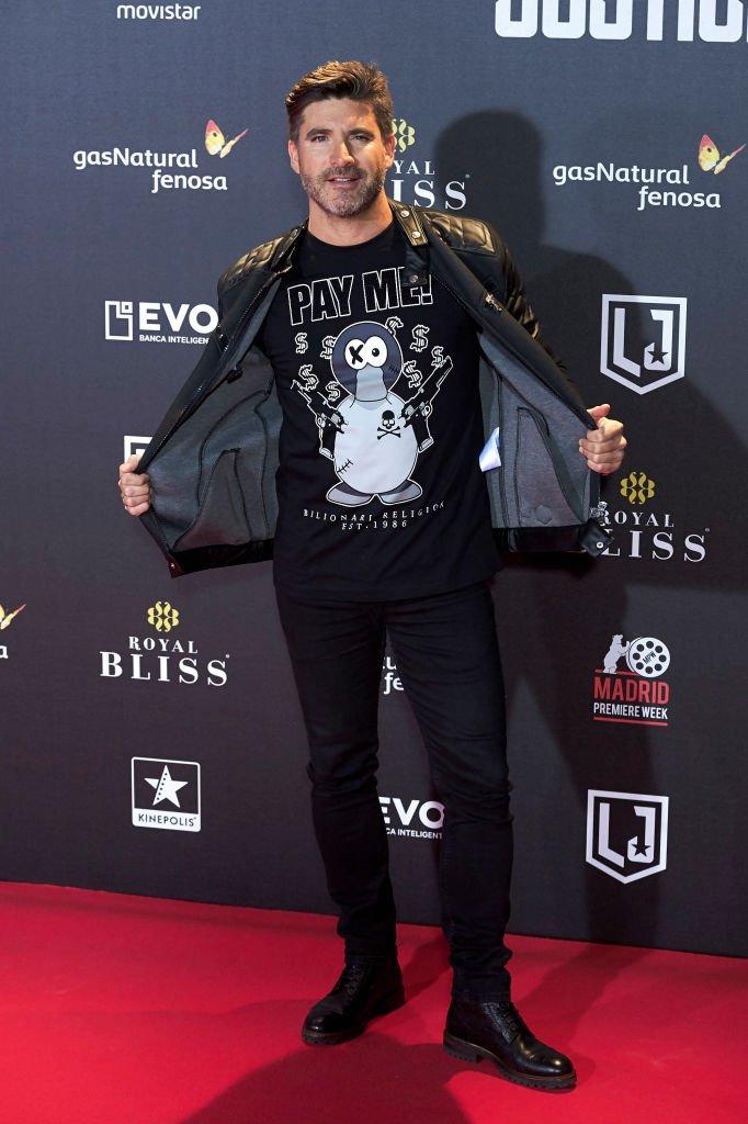 """Toño Sanchís asiste al estreno de """"La Liga de La Justicia"""".  Fuente: Getty Images"""