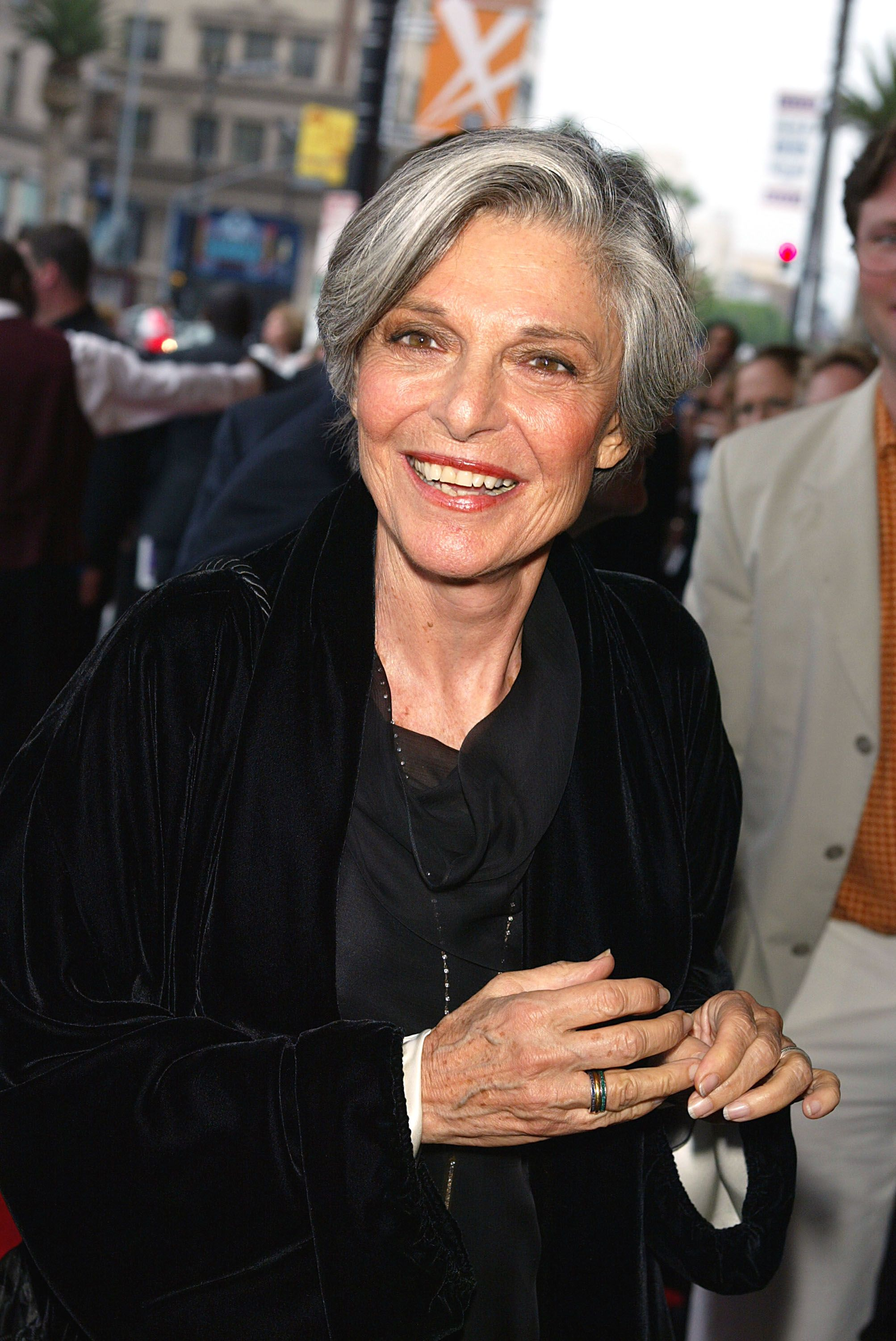 Anne Bancroft le 29 mai 2003. l Source : Getty Images