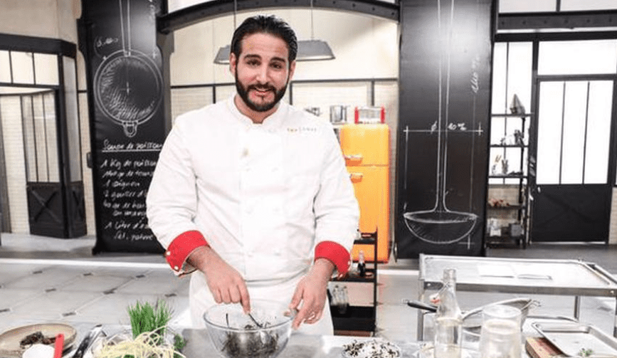 Top Chef Mohamed Cheikh.   Photo :  Twitter/Sud Ouest