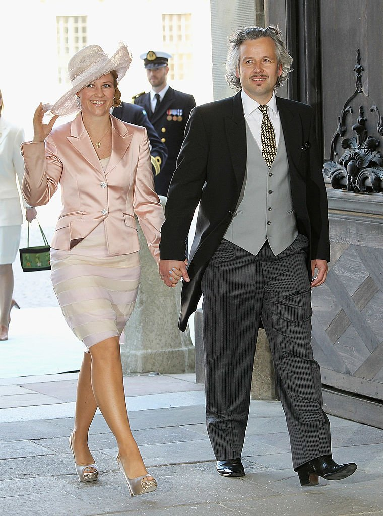 La princesa Märtha Louise y Ari Behn en el Palacio Real de Estocolmo, Suecia, el 22 de mayo de 2012. | Imagen: Getty Images