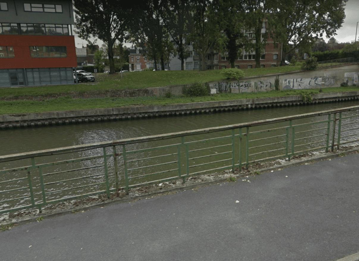 Canal à Valenciennes | Photo : Google /Vue de la rue