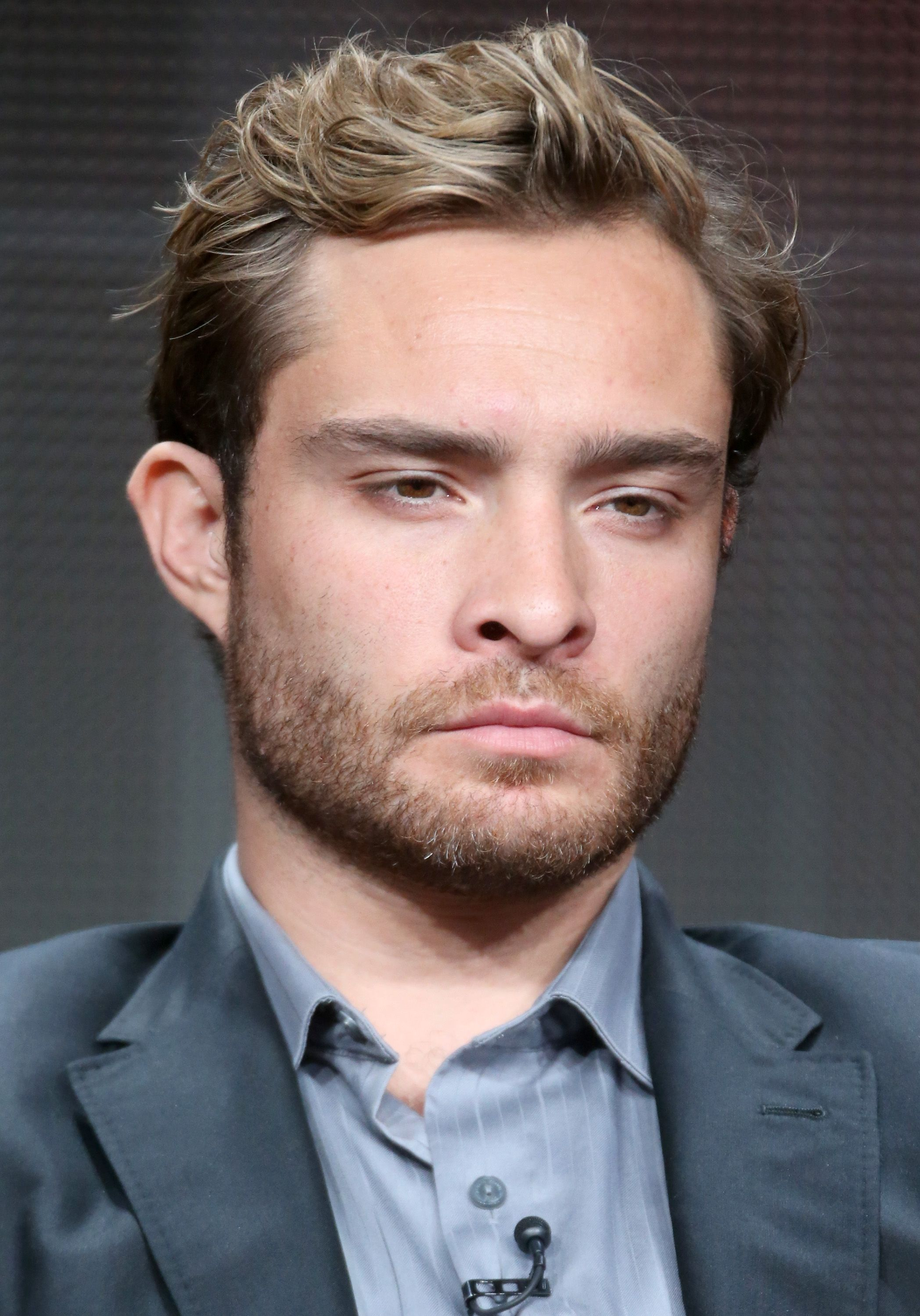 Ed Westwick at the 'Wicked City' panel discussion on August 4, 2015 in California.  | Photo: Getty Images