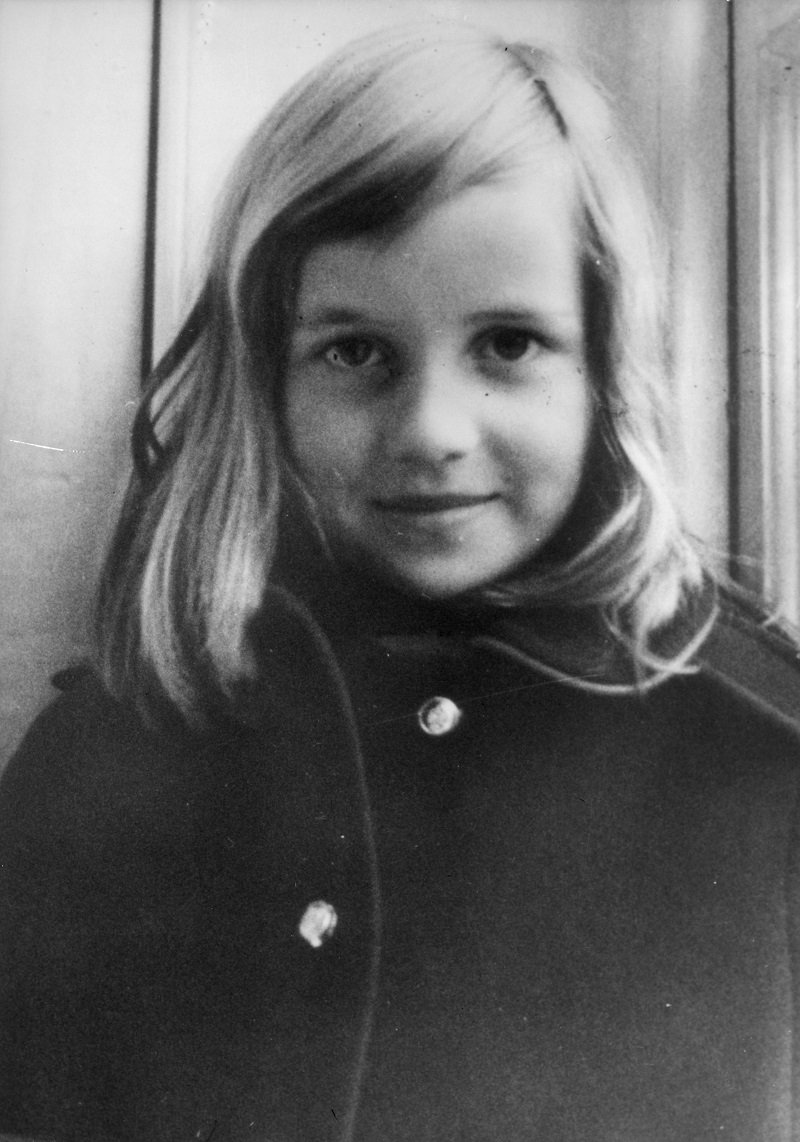 A young Lady Diana Spencer circa 1965   Photo: Getty Images
