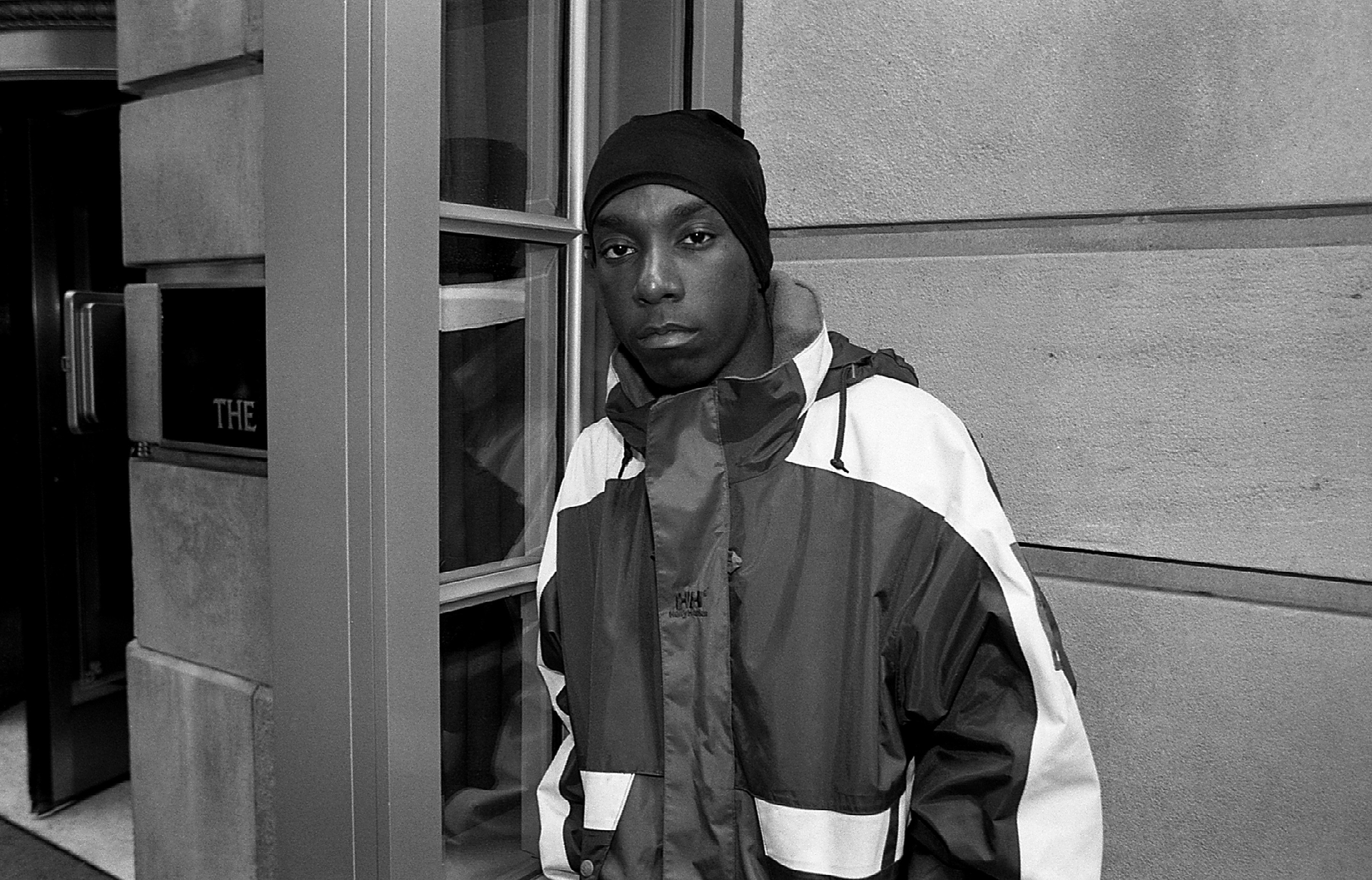 Big L at The Ambassador East Hotel in Chicago, Illinois on April 1, 1995   Photo: Getty Images