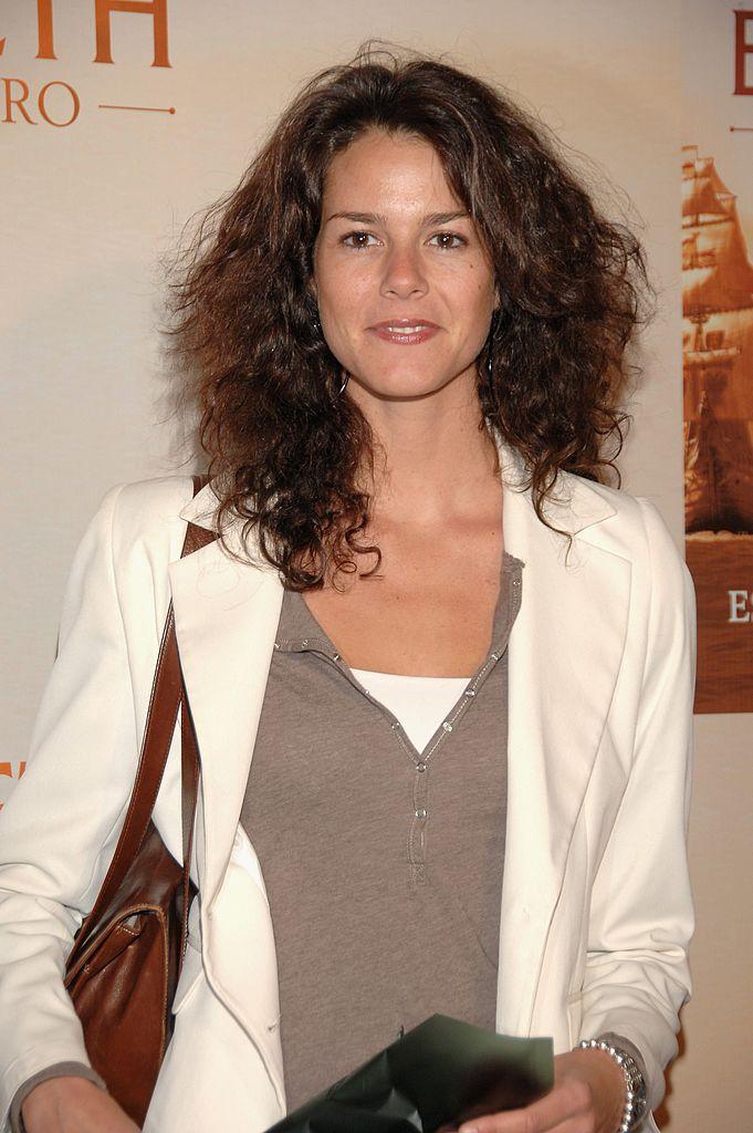 Isabel Aboy asiste al estreno de 'Elizabeth: The Golden Age' el 22 de octubre de 2007 en Madrid, España.   Foto: Getty Images