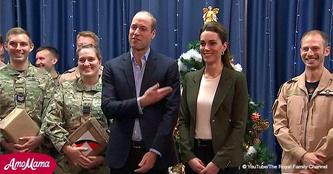 Kate Middleton wird von Prinz William ausgelacht, weil sie sich wie ein Weihnachtsbaum angezogen hatte