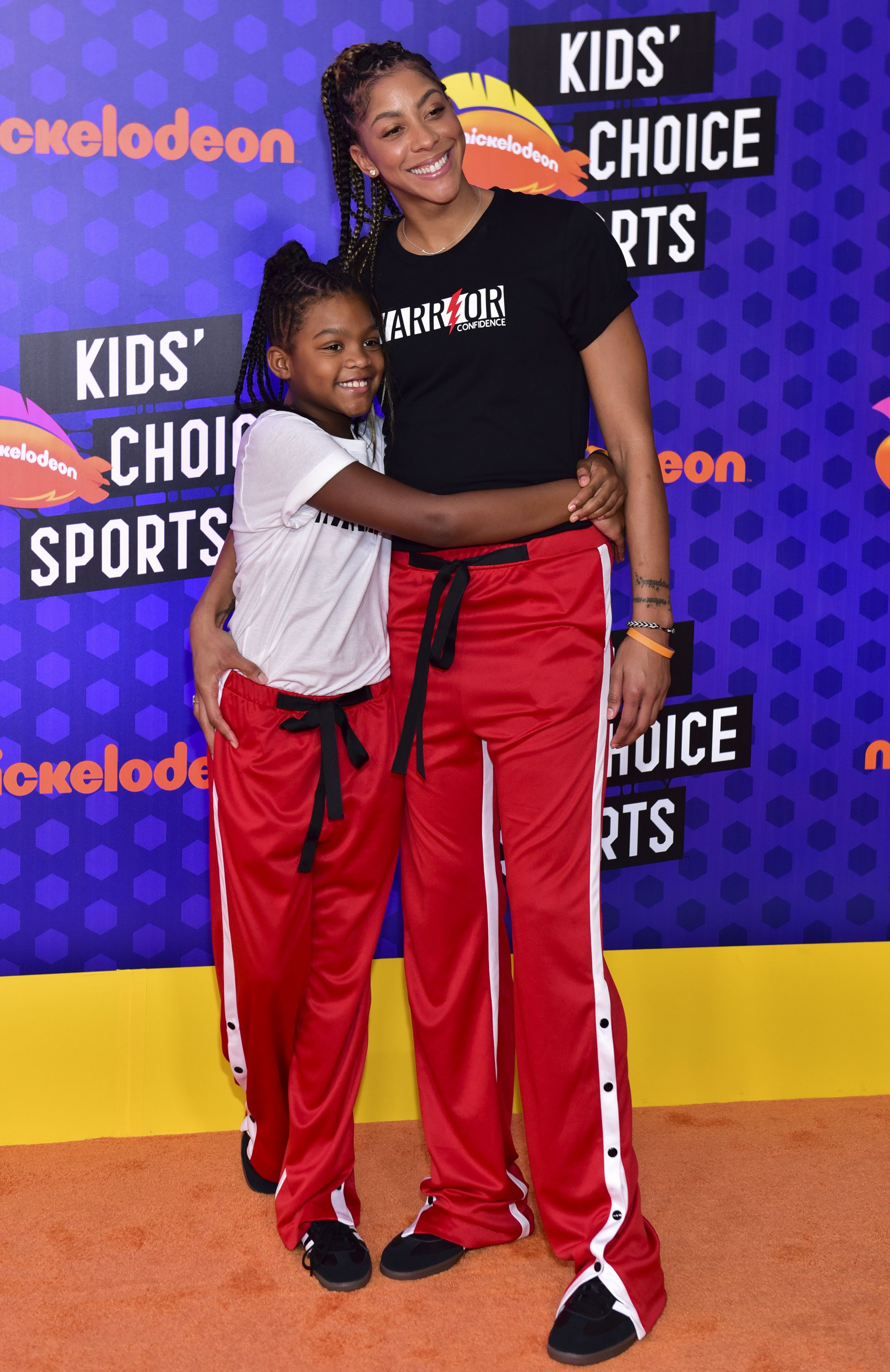Candace Parker and Lailaa at Nickelodeon Kids' Choice Sports Awards on July 19, 2018 in Santa Monica. | Photo: Getty Images