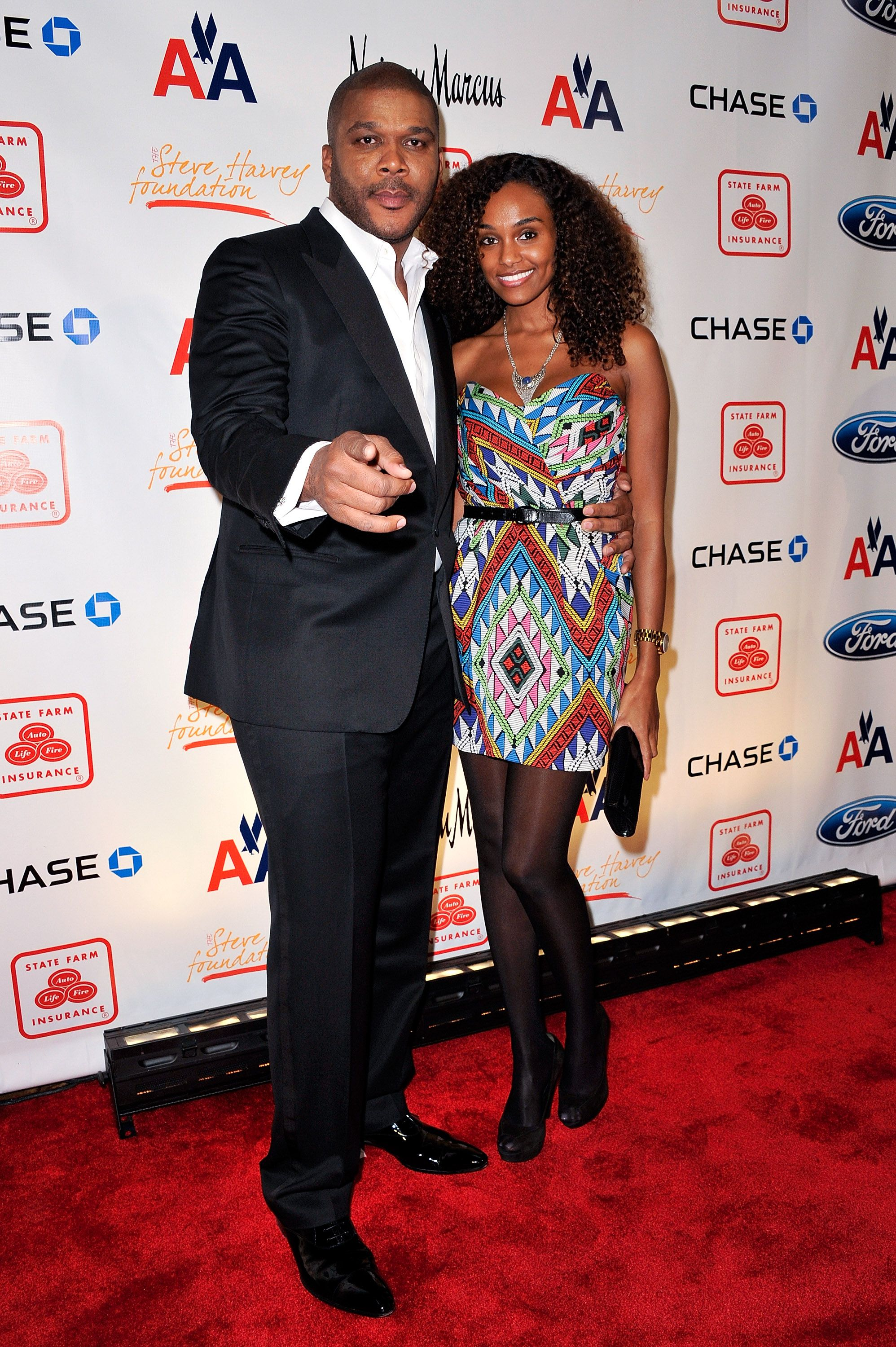 Tyler Perry and model Gelila Bekele attend the 2nd annual Steve Harvey Foundation gala at Cipriani Wall Street on April 4, 2011 in New York City. | Source: Getty Images