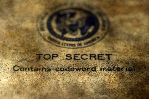 A Top secret file. | Source: Shutterstock.