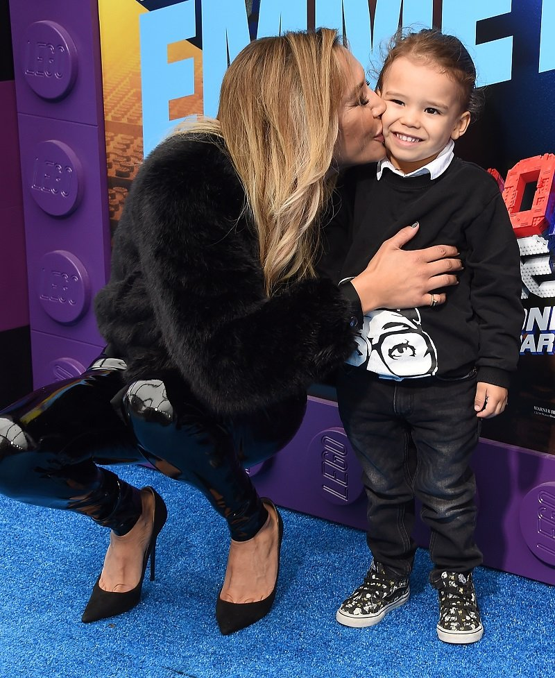 Naya Rivera and Josey Hollis on February 2, 2019 in Westwood, California | Photo: Getty Images