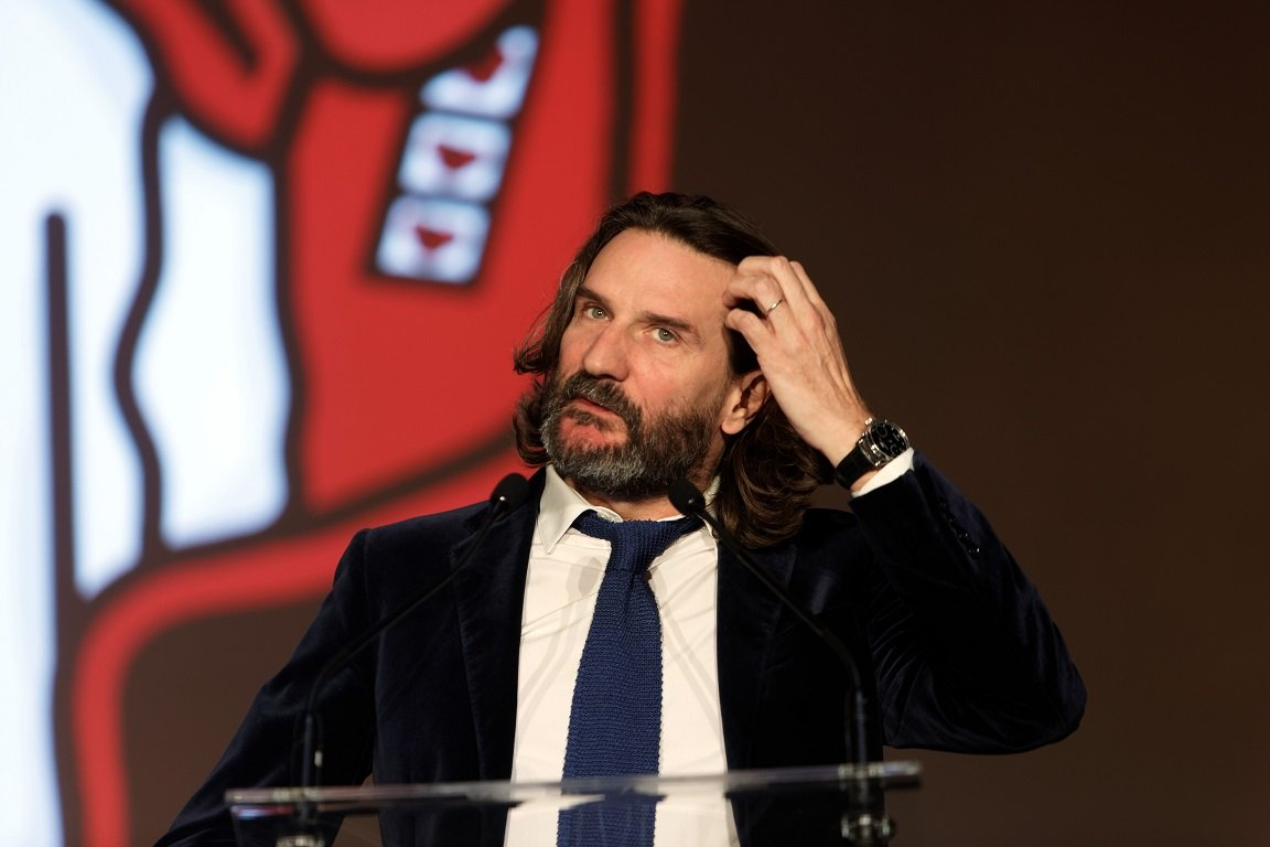 L'écrivain Frédéric Beigbeder | Photo : Getty Images