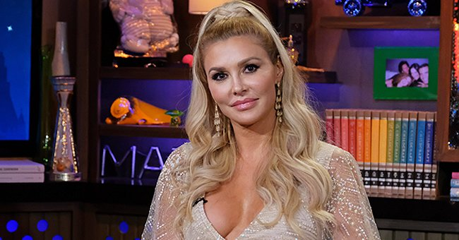 """An undated photo of reality star Brandi Glanville on """"Watch What Happens Live!"""" during episode 16173 Season 16 