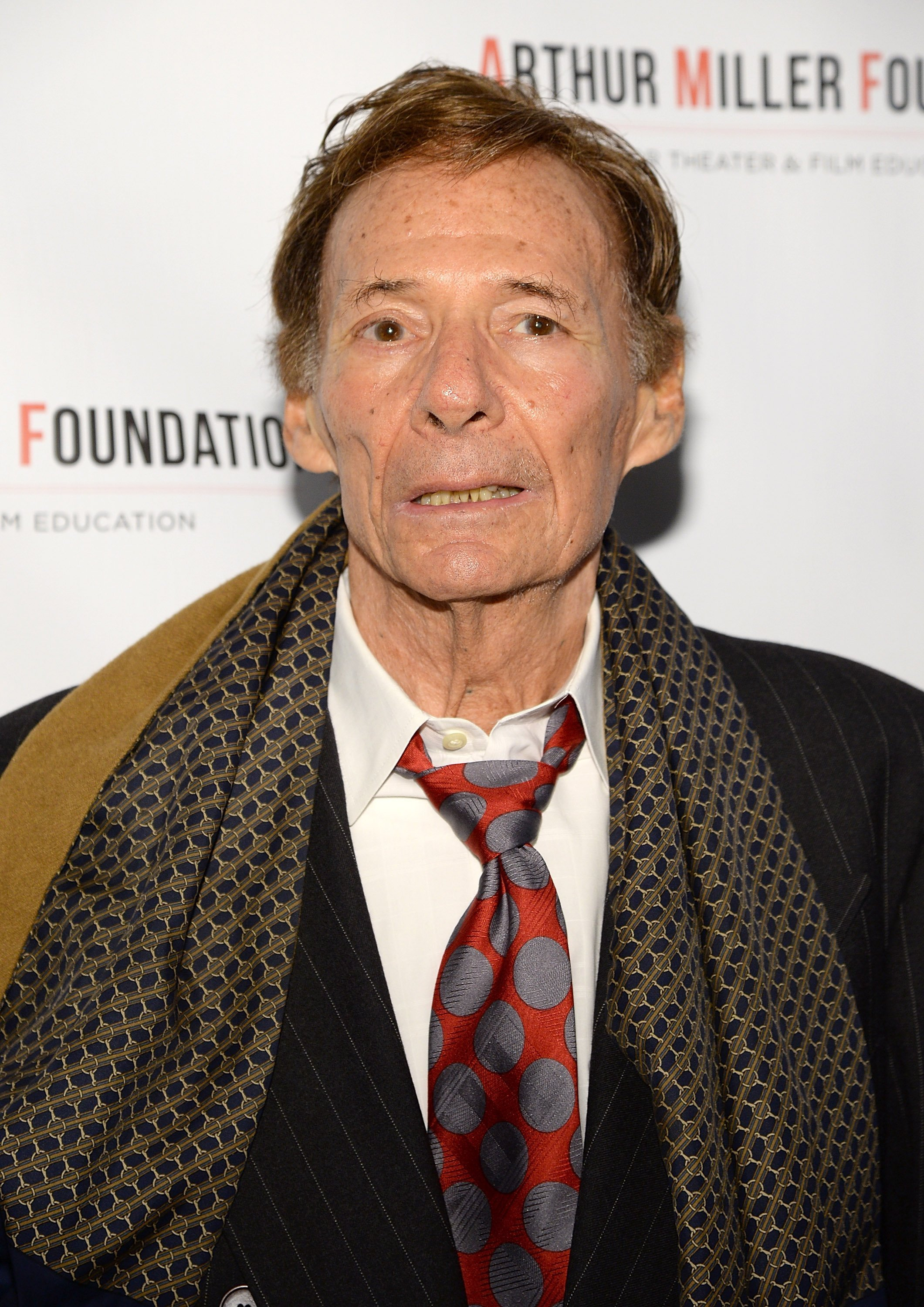 Ron Leibman at the Arthur Miller - One Night 100 Years Benefit at Lyceum Theatre in New York City | Photo: Getty Images