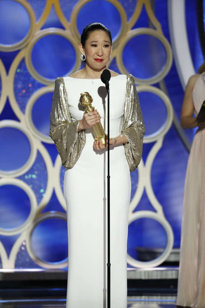 Sandra Oh, 76. Golden Globe Awards | Quelle: Getty Images