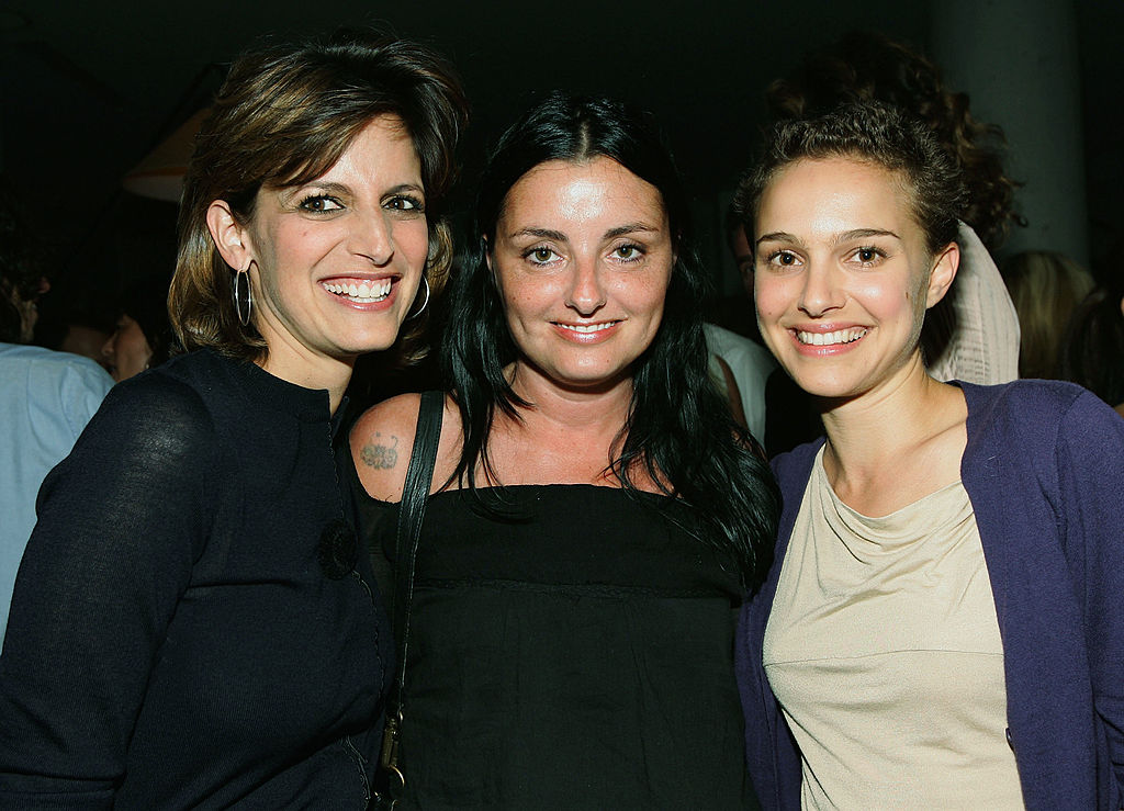 Glamour Magazine's Editor-in-Chief Cindi Leive, Jeanine Lobell,and Natalie Portman. Image Credit: Getty Images