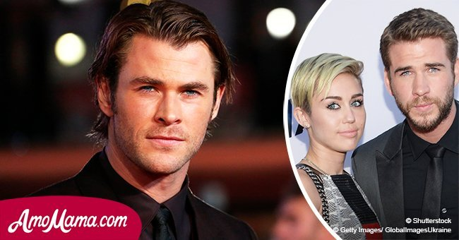 Chris Hemsworth makes a statement about Miley and Liam, revealing their real marriage status
