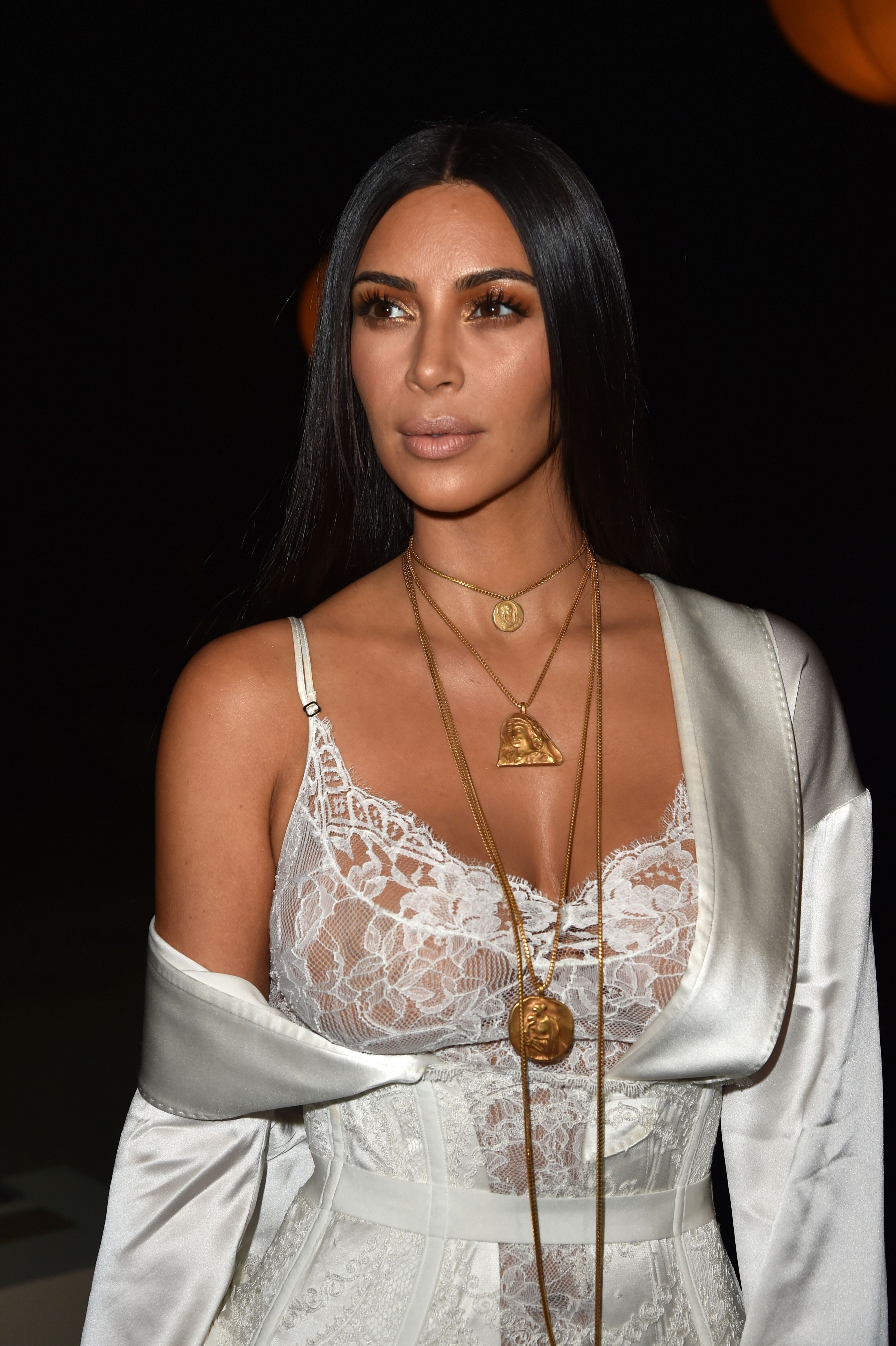 Kim Kardashian assiste au défilé Givenchy | Source: Getty Images