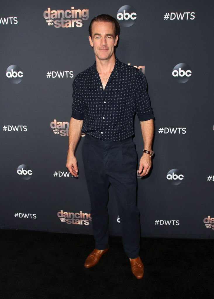 "James Van Der Beek attends ""Dancing With The Stars"" Season 28 Top 6 Finalists at Dominque Ansel at The Grove. 