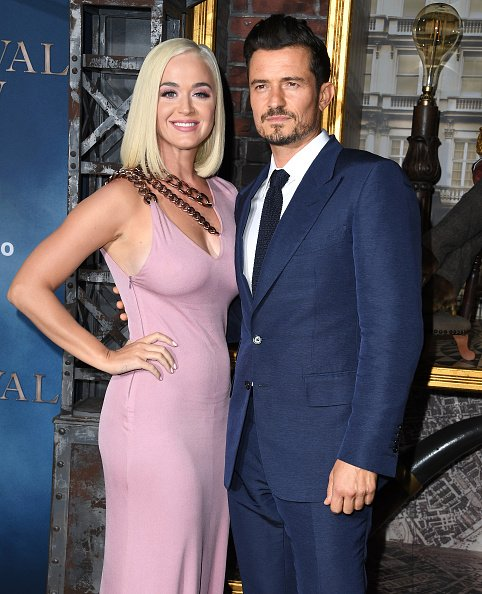 Katy Perry and Orlando Bloom at TCL Chinese Theatre on August 21, 2019 in Hollywood, California. | Photo: Getty Images