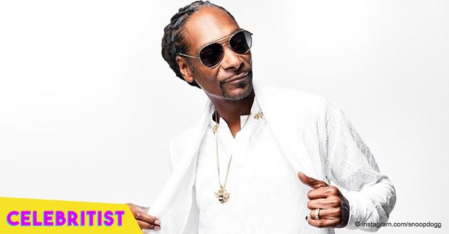 Snoop Dogg shares photo of his growing grandson posing like a pro in T-shirt & brown pants
