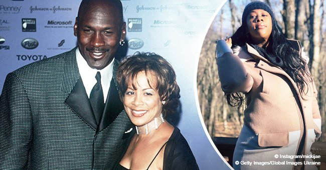 Michael Jordan & ex Juanita's daughter reveals she's pregnant & flaunts baby bump in adorable pics