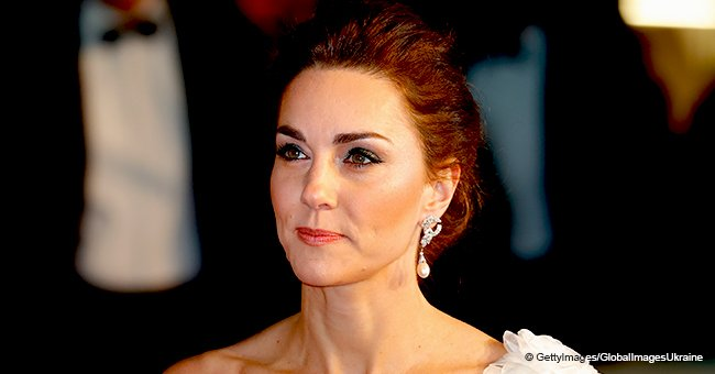 Kate Middleton pays tribute to her late mother-in law Princess Diana by wearing her earrings